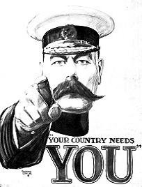 Your Country Needs You!